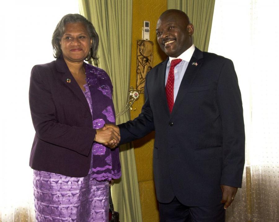 La Directrice régionale du bureau du FNUAP apprécie les efforts fournis par le gouvernement