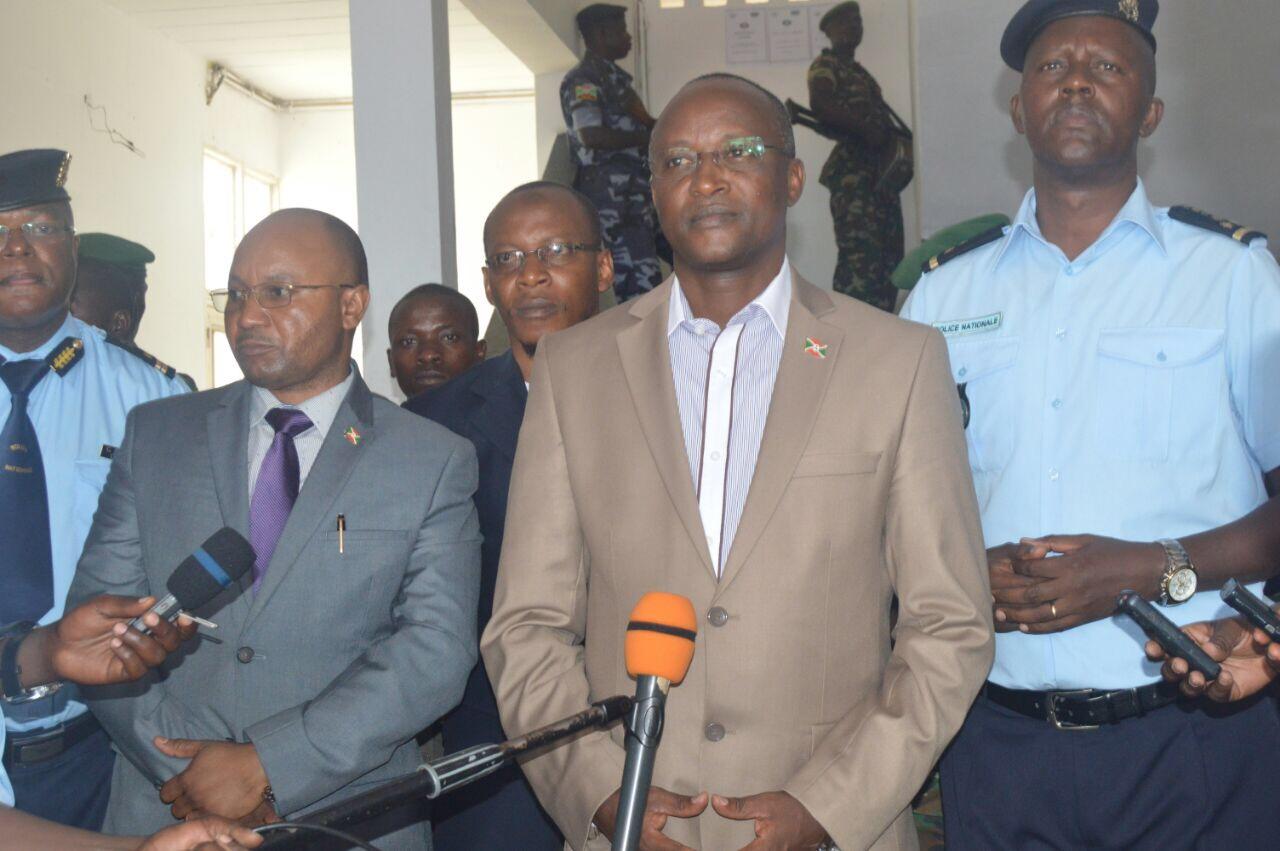Le Premier Vice-Président visite la PJP