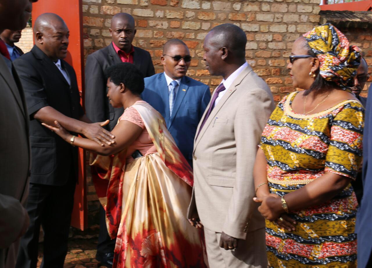 Le Président Nkurunziza en réunion avec les élus et administratifs des provinces du Nord