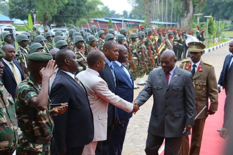 Le Président Nkurunziza anime une conférence à l'ISCAM