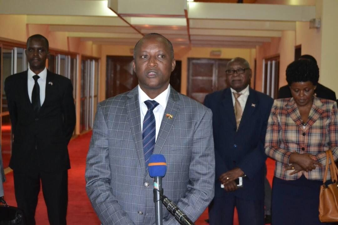 S.E Gaston Sindimwo revient du 18è sommet des Chefs d'États de l'EAC