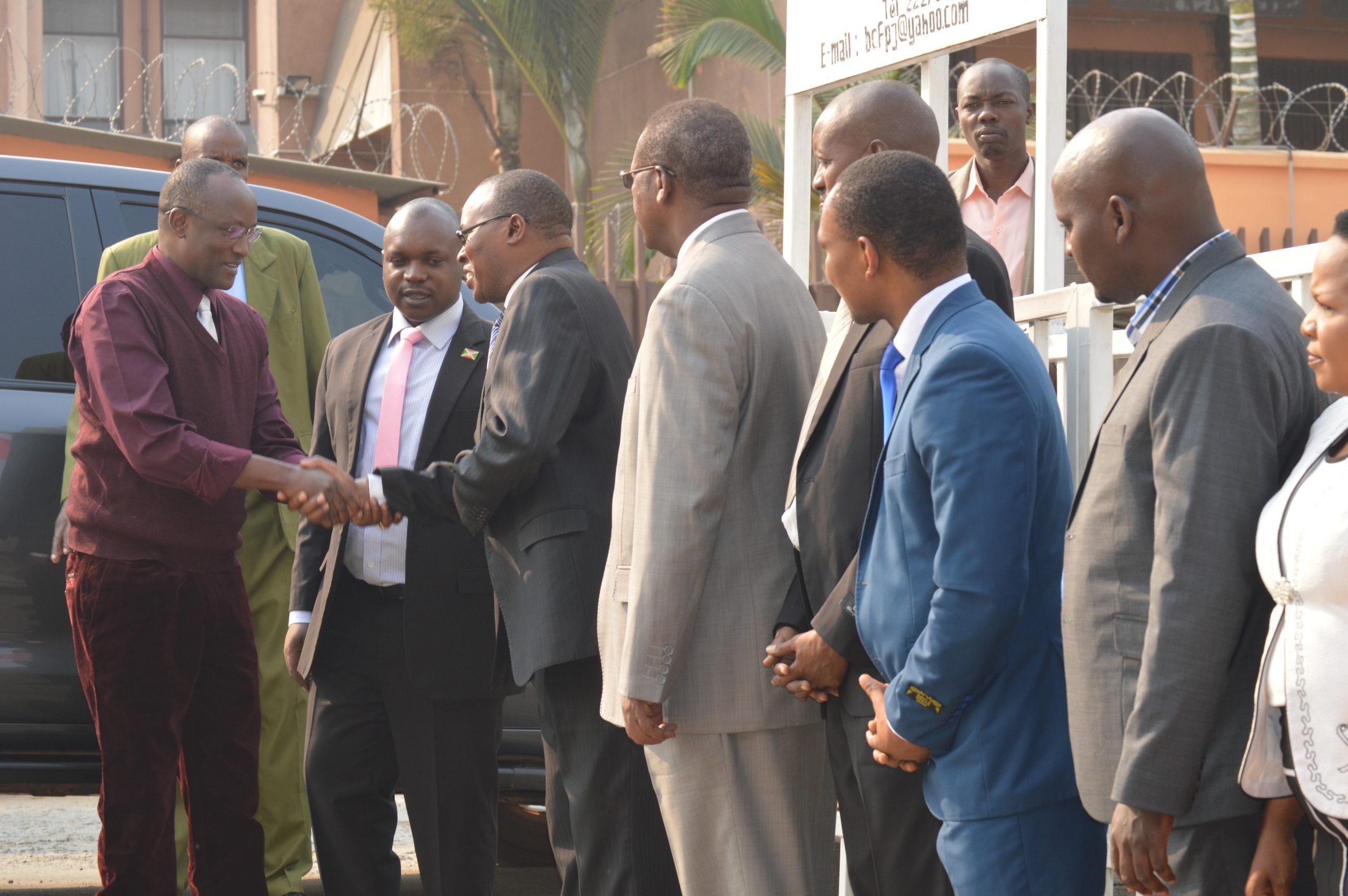 Le Premier Vice-Président de la République en visite au CFPJ