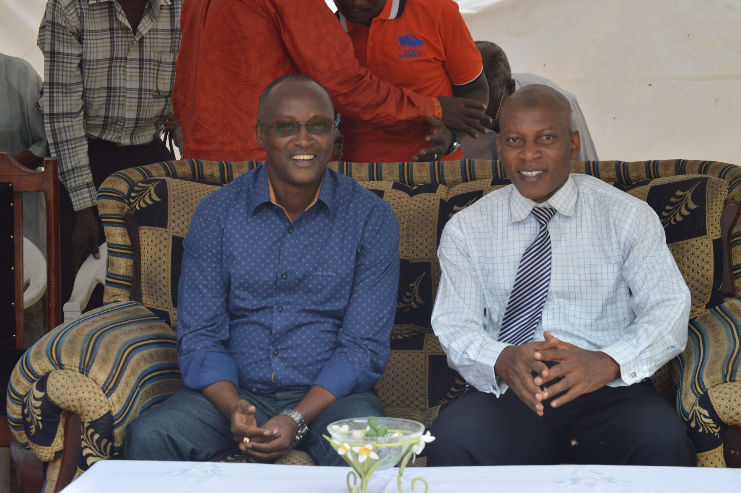 Le Premier Vice-Président à Jabe pour les activités d'encadrement des jeunes en vacances