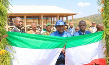 Inaugurations par le Président Nkurunziza de plusieurs infrastructures à Muramvya et à Kayanza