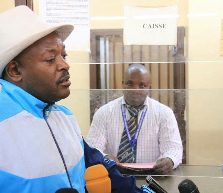 Autofinancement des élections de 2020 au Burundi: Son Excellence Pierre Nkurunziza dépose sa contribution