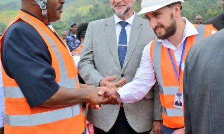 Le site minier de Mabayi a été inauguré par Son Excellence Pierre Nkurunziza.