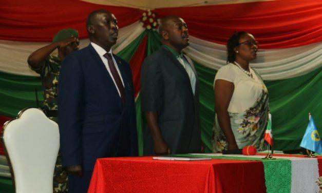 Son Excellence Pierre Nkurunziza en séance de moralisation de la société en province Bujumbura