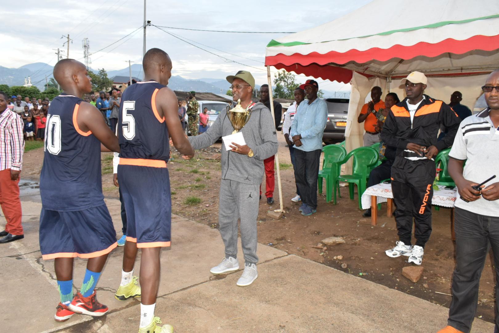 Le Premier Vice-Président de la République aux cérémonies de clôture de la semaine dediée au Sport et la Culture à Jabe