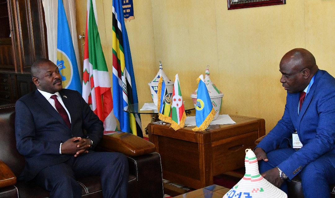 Le Chef de l'Etat reçoit en audience une délégation de la CEEAC