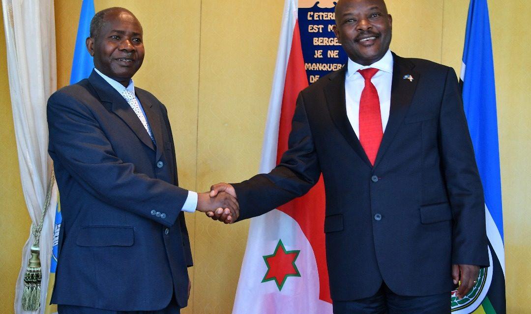 L'ambassadeur de la Tanzanie fait ses adieux à Son Excellence Pierre Nkurunziza