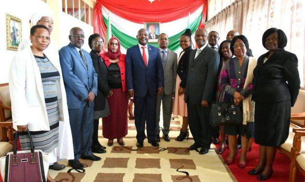Les Ombudsmans africains reçus en audience par le Chef de l'Etat Burundais