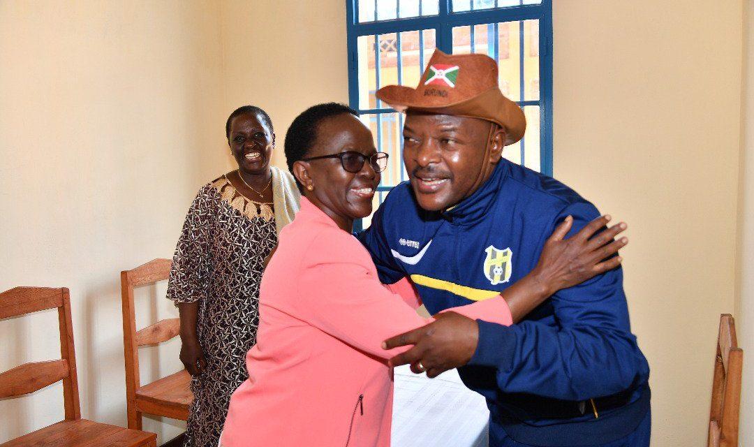 Mesdames Mulamula et Kazibwe reçues en audience par le Président Nkurunziza