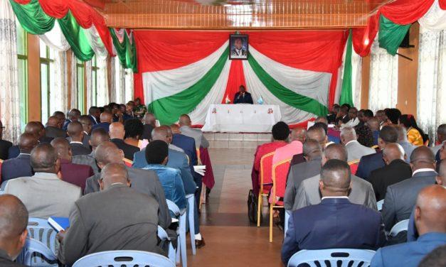 Le Chef de l'Etat préside une retraite gouvernementale à Gitega