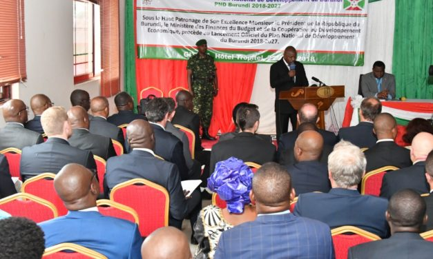 Le Chef de l'Etat lance le Plan National de développement du Burundi 2018-2027