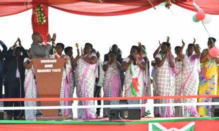 Le Chef de l'Etat ouvre une prière d'action de grâce de la famille présidentielle à Karusi