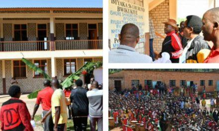 L' ECOFO Buye ouverte officiellement par le Chef de l'Etat