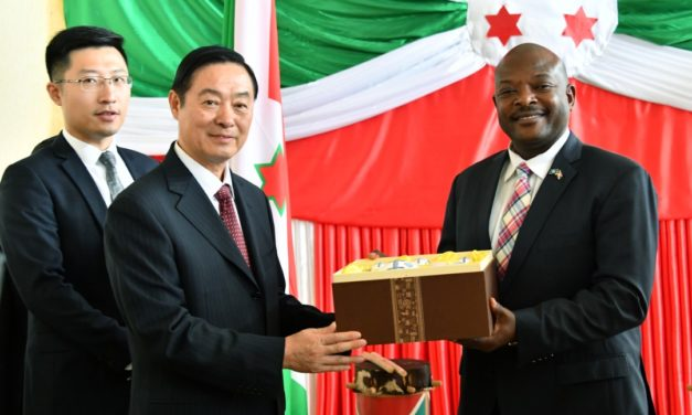 Le Chef de l'Etat reçoit le Vice-Président du Comité de la Conférence Consultative Politique du Peuple Chinois