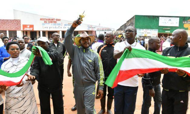 Le Chef de l'Etat en province Gitega pour l'inauguration des œuvres