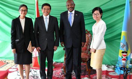 Le Chef de l'Etat reçoit dix lettres de créance de nouveaux Ambassadeurs