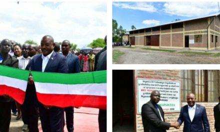 Inaugurations à Mutimbuzi et à Bubanza par Son Excellence Pierre Nkurunziza