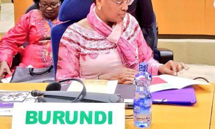 La Première Dame du Burundi présente sa vision de l'OPDAD-Burundi à Addis Abeba