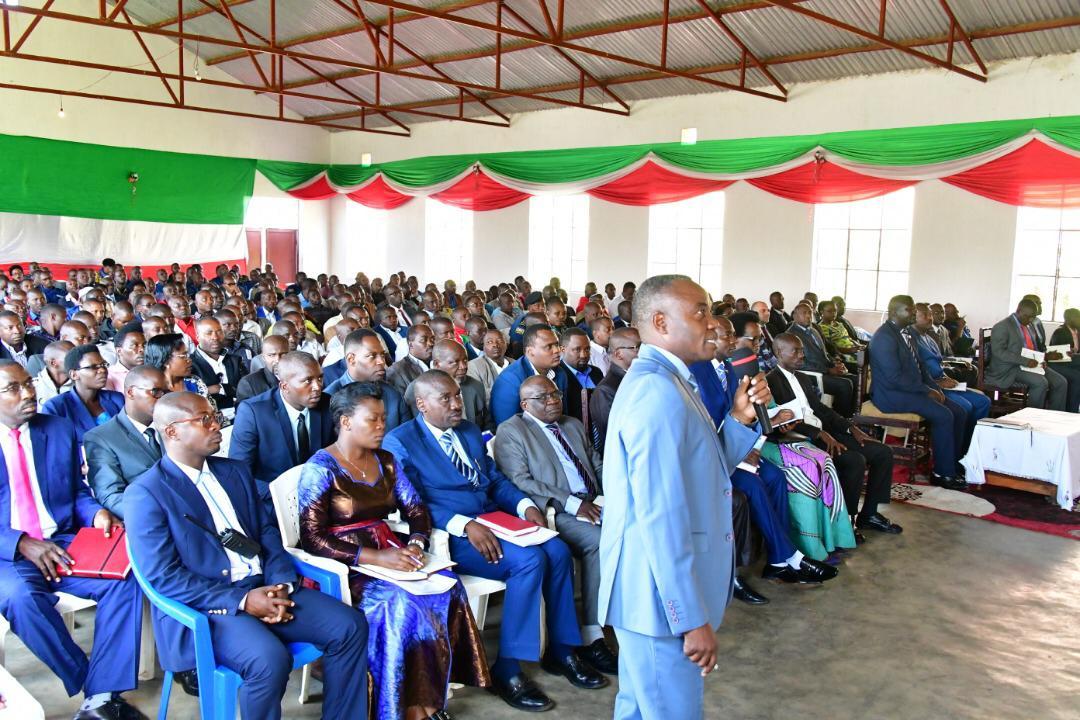 Evaluation du secteur minier en présence du Chef de l'Etat