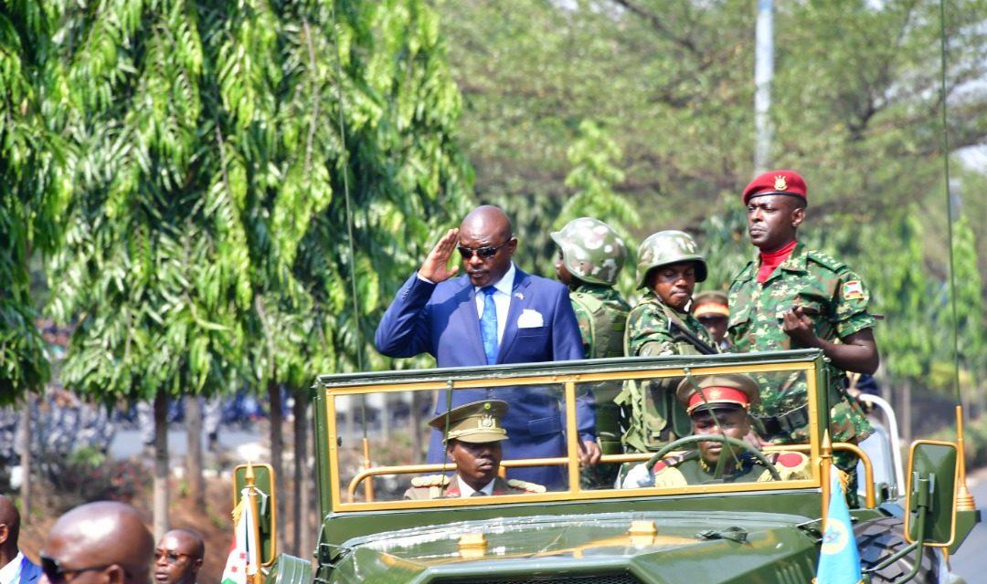 Son Excellence le Président de la République préside la fête du 57ème anniversaire de l'indépendance du Burundi