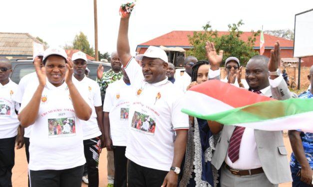 Le Chef de l'Etat inaugure des infrastructures du 57ème anniversaire de l'indépendance à Karusi et à Muyinga