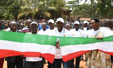 Le Chef de l'Etat inaugure des infrastructures en provinces Cibitoke et Bujumbura
