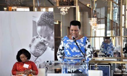 Participation de SE la Première Dame du Burundi à l'événement de haut niveau de l'OPDAD à New York