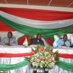 Le Chef de l'Etat  préside une réunion du conseil de sécurité à Mubimbi