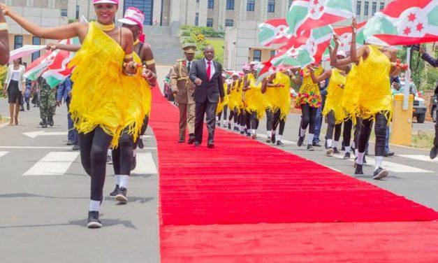 Le Chef de l'Etat inaugure le nouveau palais présidentiel