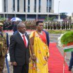 Le Couple Présidentiel participe à la commémoration du 26è anniversaire de l'assassinat du héros de la démocratie