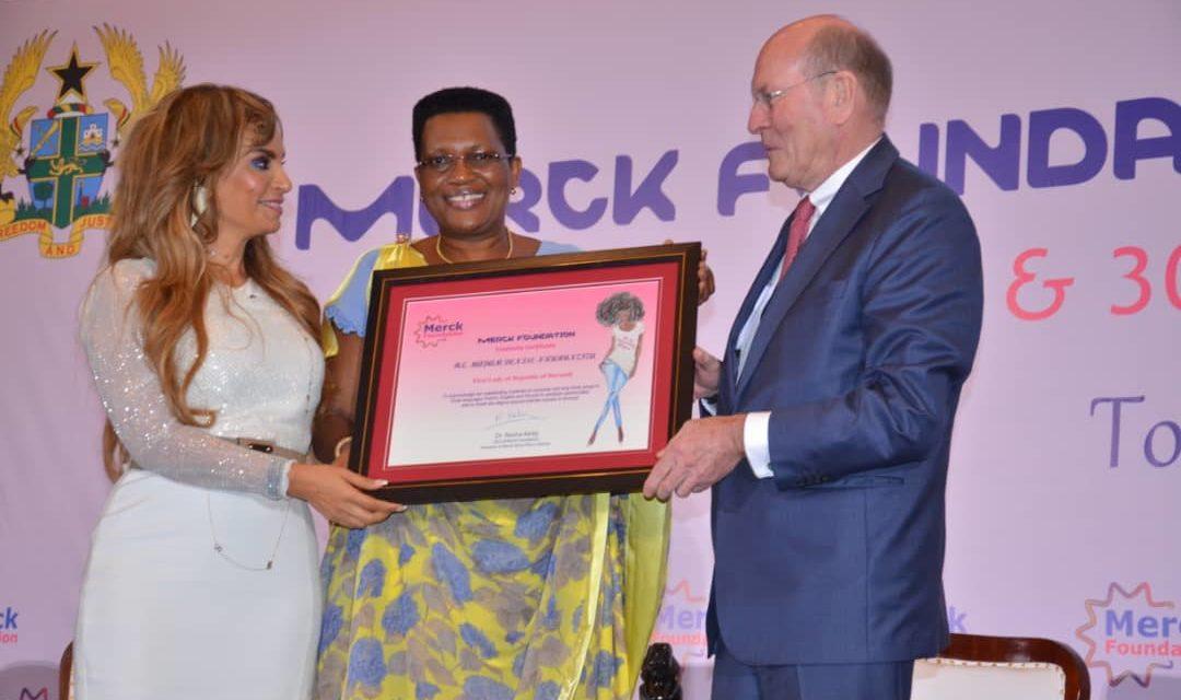 La Première Dame du Burundi primée par la Fondation Merck
