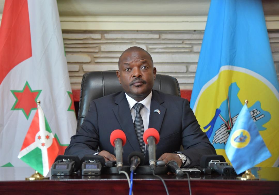 Ijambo rishikirijwe na Nyenicubahiro Petero Nkurunziza yipfuriza Umwaka mwiza w' 2020 Abarundi