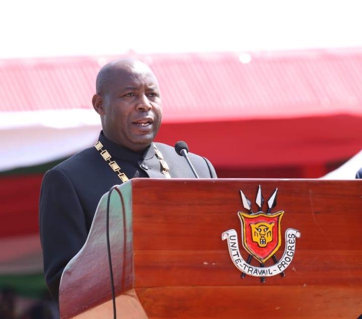Discours de Son Excellence Général Major Evariste Ndayishimiye à l'occasion de son investiture