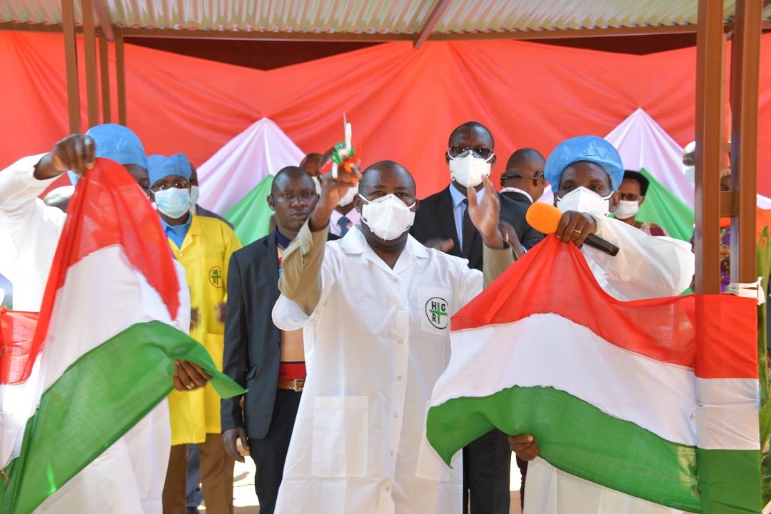 Le Président Burundais accélère le rythme du développement économique et social