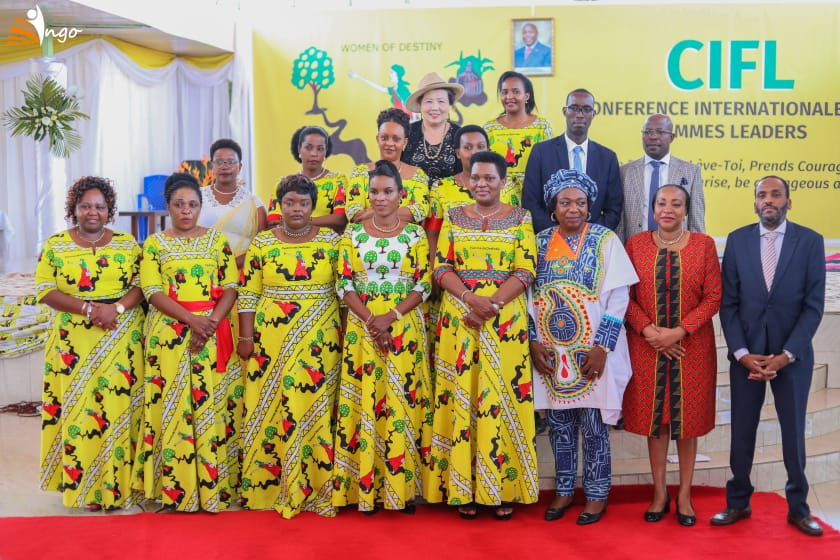 La Première Dame du Burundi lance officiellement les activités de la Conférence Internationale des Femmes Leaders