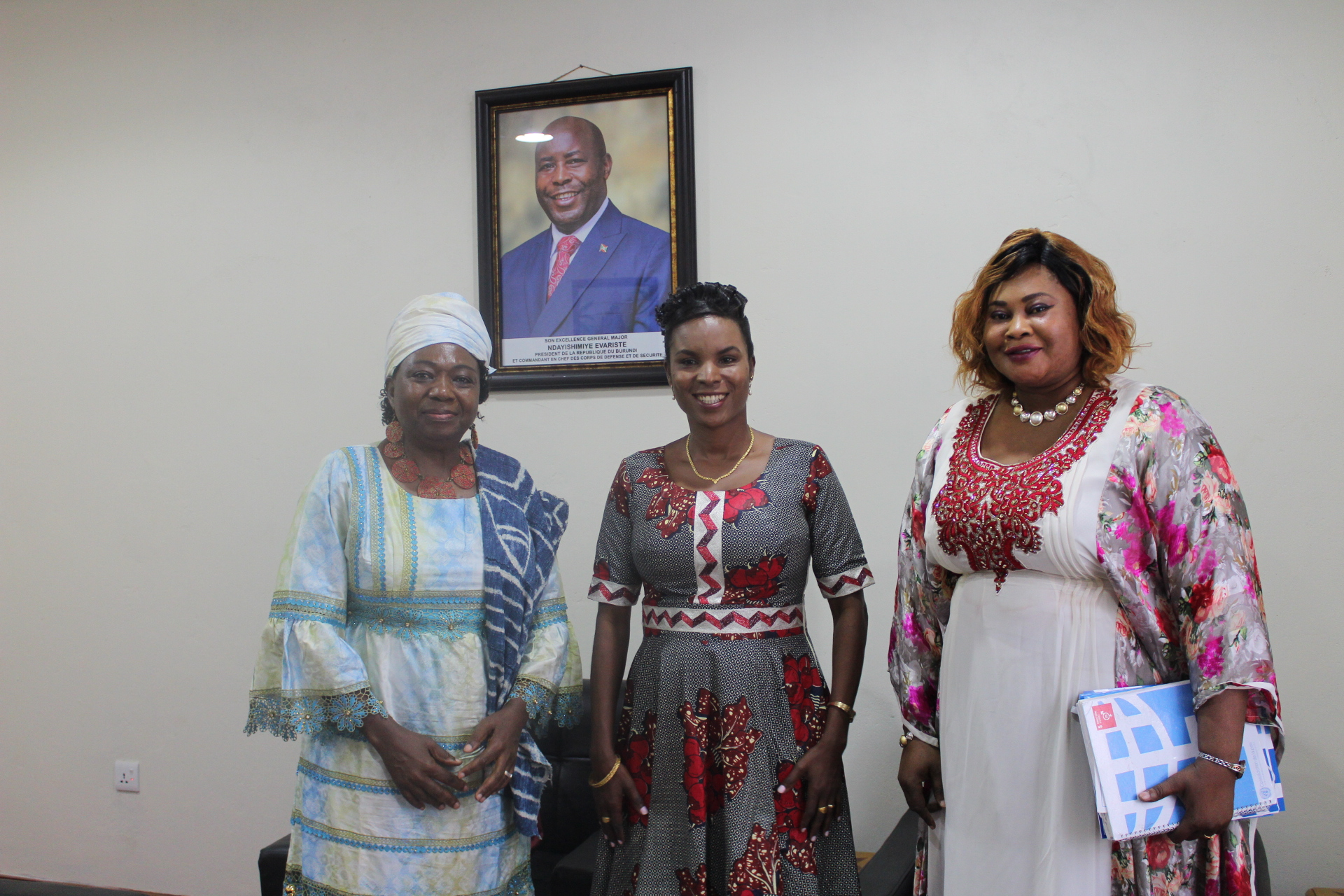 La Première Dame du Burundi reçoit en audience la Représentante de l'ONU FEMMES au Burundi