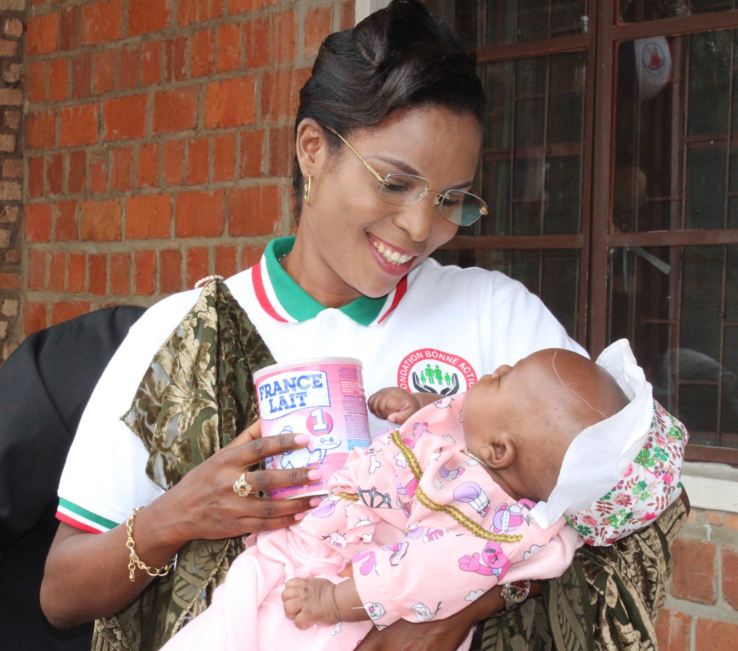 La Première Dame appui le Centre des Missionnaires de la Charité de Kirundo