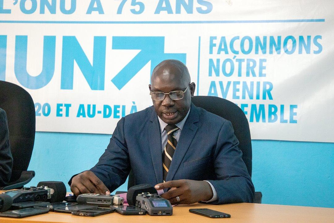 Discours de Monsieur Alain Diomède Nzeyimana, Porte-Parole adjoint de SE le Chef de l'État, lors du Dialogue #UN75 avec les porte-paroles des ministères et des institutions étatiques ce 10 septembre 2020