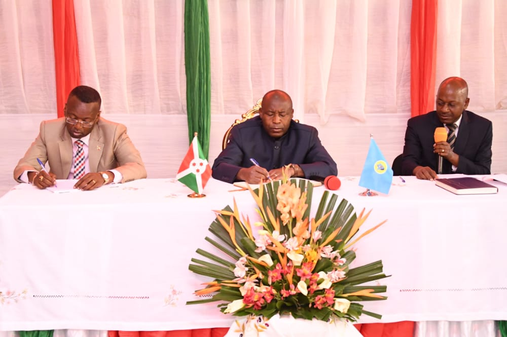 Le Président de la République rencontre les administratifs de Bubanza