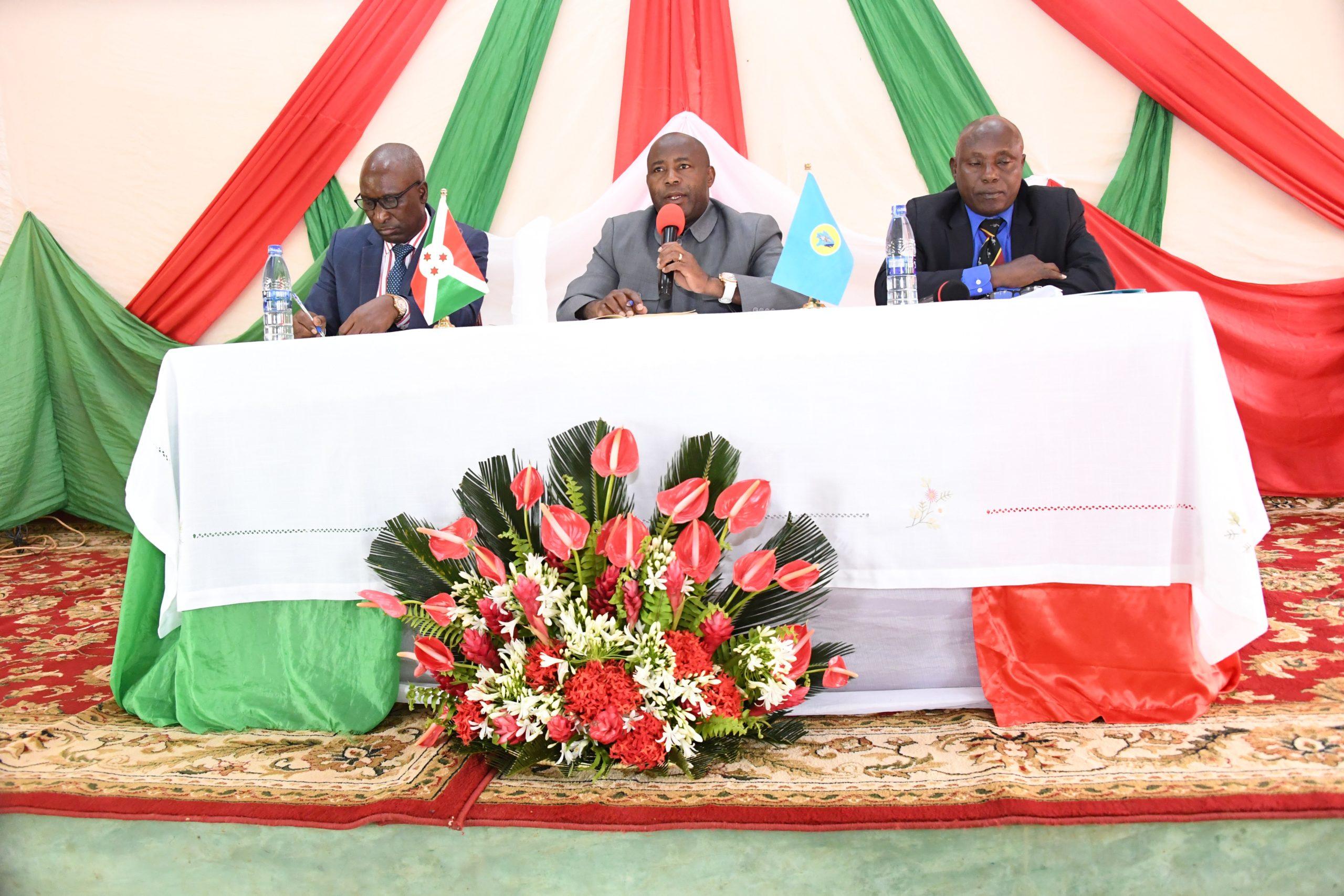 Le Chef de l'Etat rencontre les administratifs de Mwaro