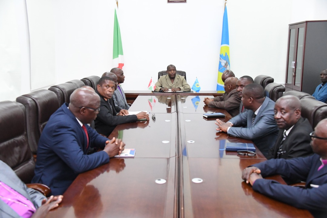 Head of State meets representatives of protestant churches
