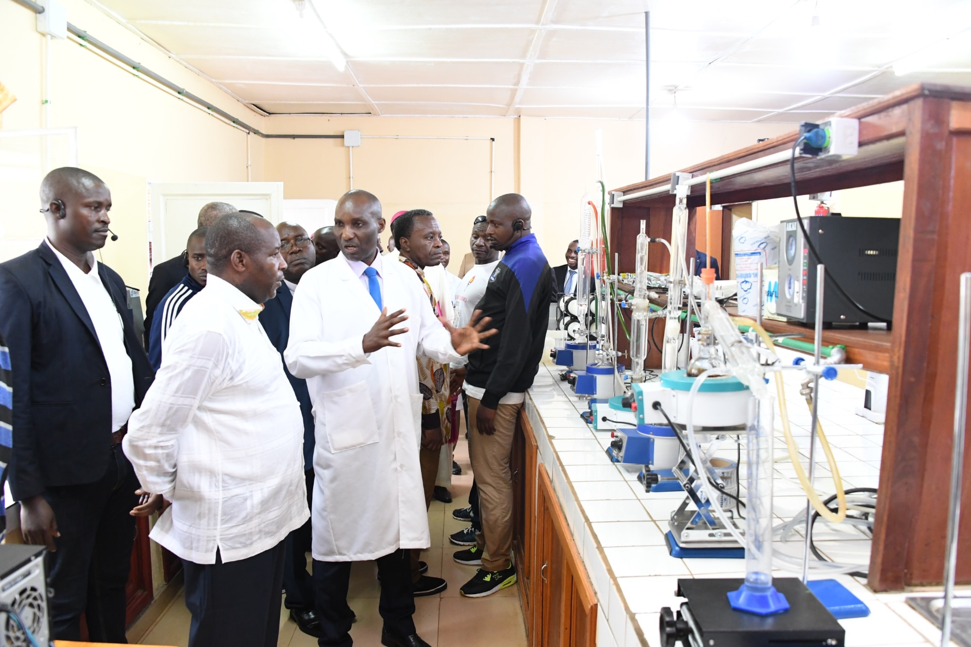 Le Chef de l'Etat inaugure un Centre de Recherche en Agriculture et Développement Rural à Ngozi