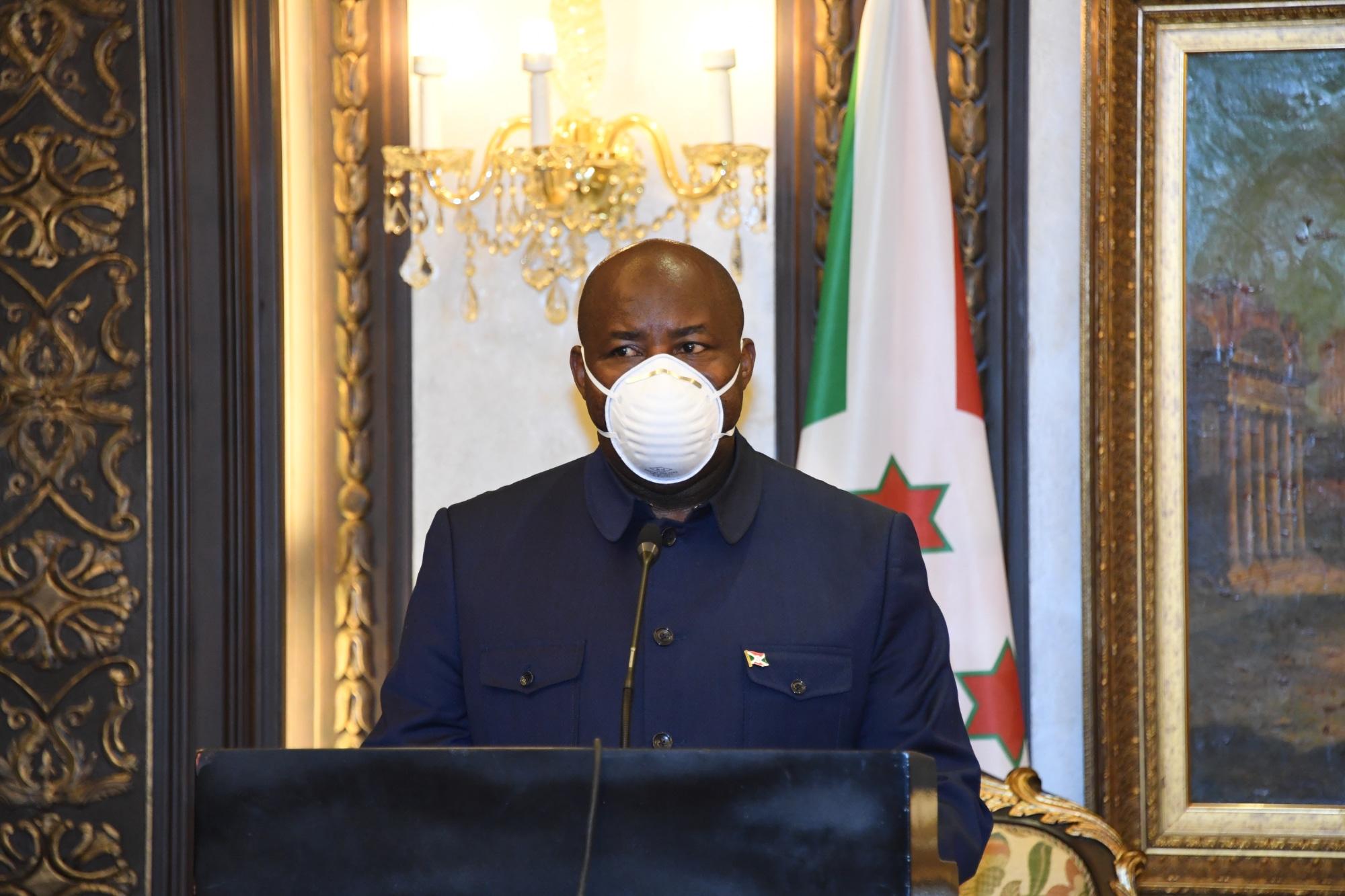 Discours de SE Evariste Ndayishimiye lors de la réunion bilatérale à  Malabo, avec son homologue de la Guinée Equatoriale