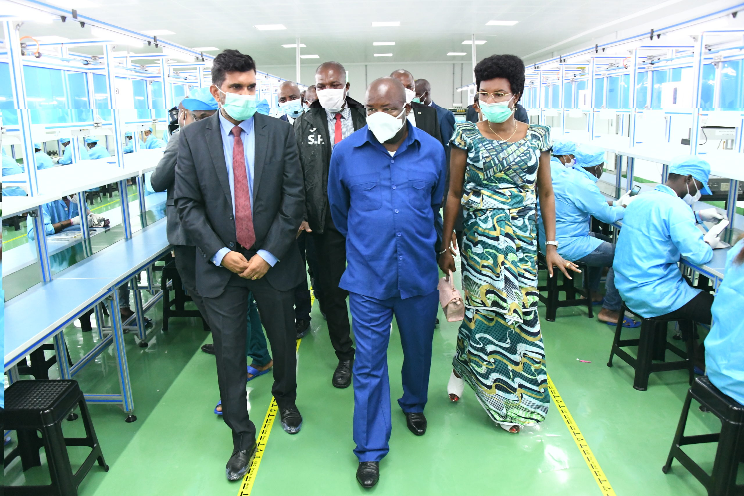 President Ndayishimiye continued his state visit in Bata city, Equatorial Guinea