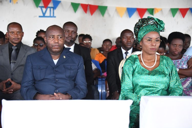 The Presidential Family takes part in Sunday Mass at Gasorwe Parish
