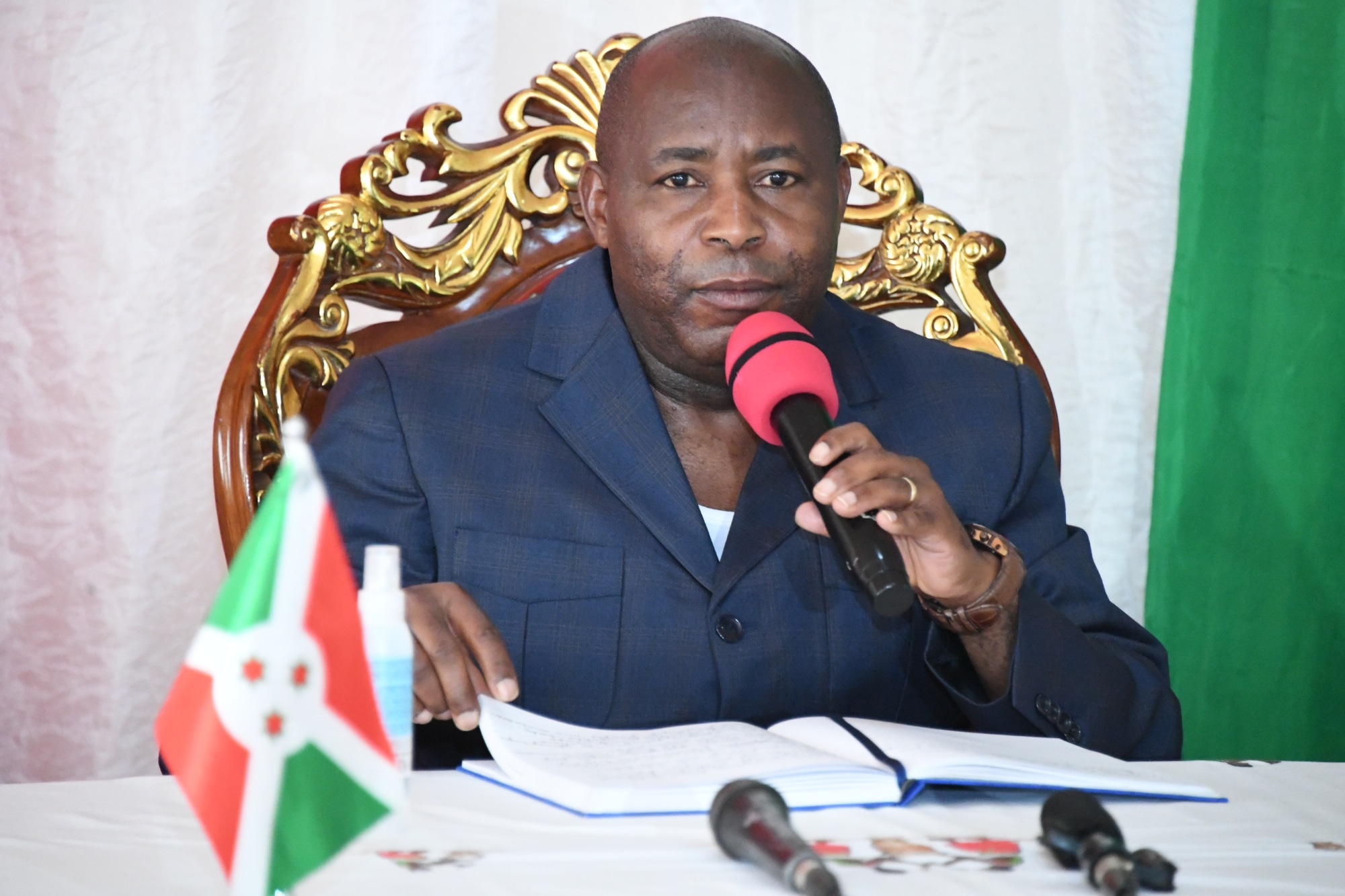 Discours de SE Evariste Ndayishimiye à l'occasion du nouvel an 2021