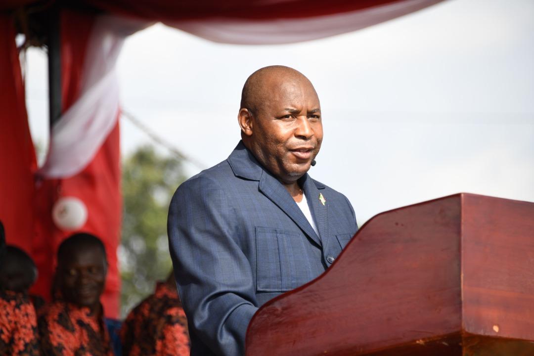 President Ndayishimiye thanks God for his benevolence on Burundi for the year 2020